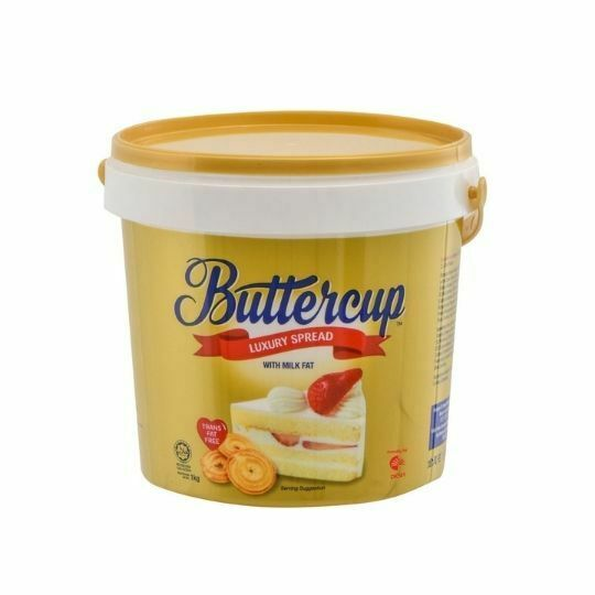 Buttercup Luxury Spread Tub 1kg