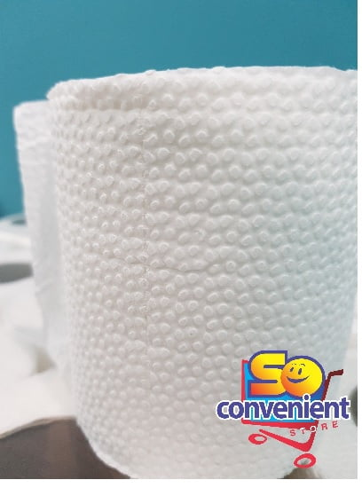 Soft Toilet Tissue 10 Rolls 100% Virgin Soft Pulp S/M/L