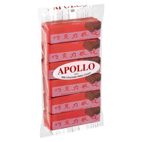 Apollo Wafer Coklat 12g x 12pcs