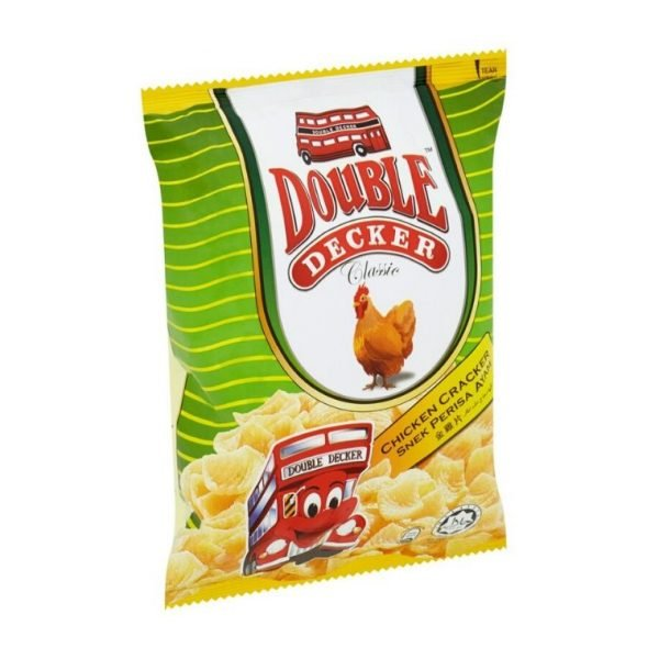 Double Decker Crackers-Chicken 40g