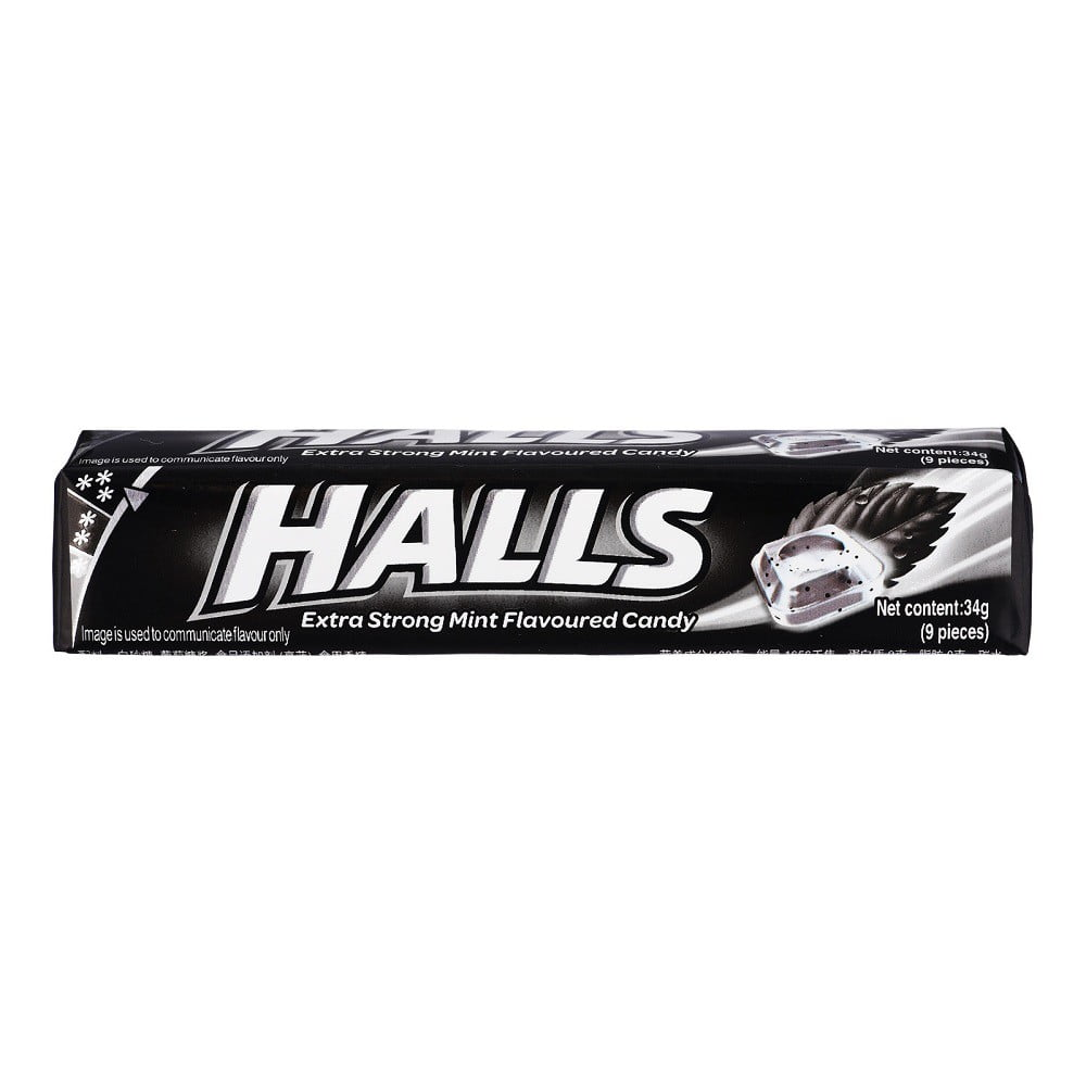 Halls Stick Strong Mints 34g