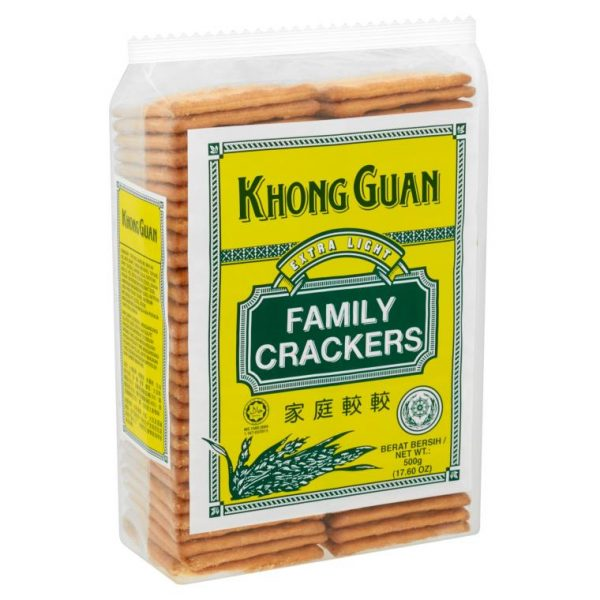 Khong Guan Family Crackers Extra Light 500g