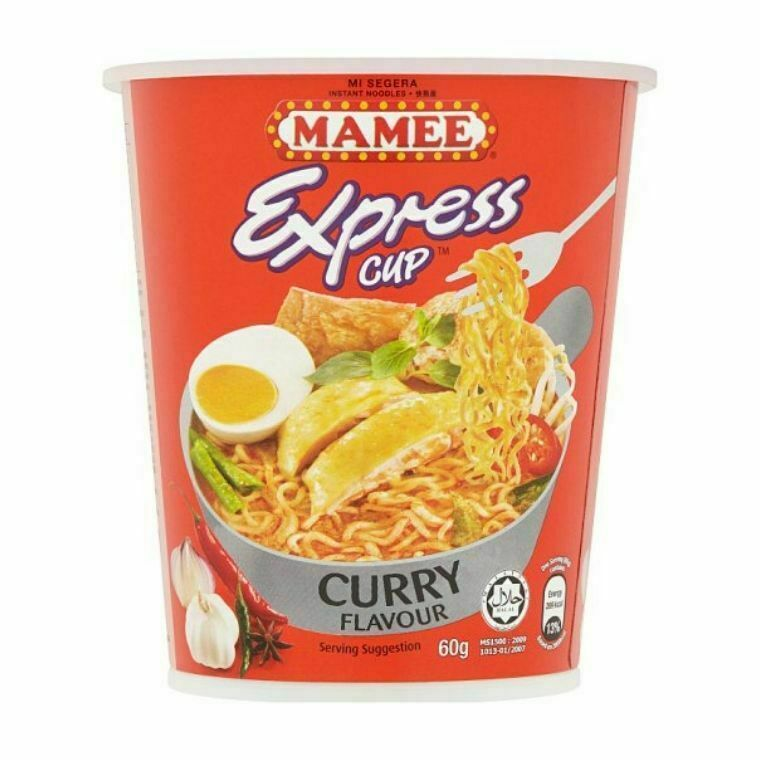Mamee Express Cup Instant Noodles-Curry Flavour (3 x 60g)