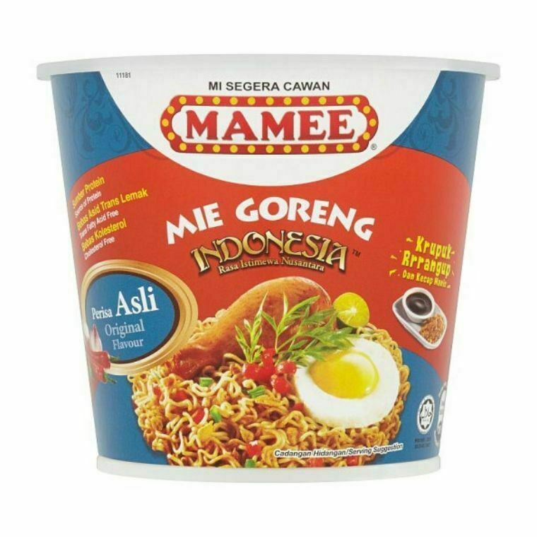 Mamee Cup Mie Goreng Indonesia-Asli Flavour (3 x 80g)