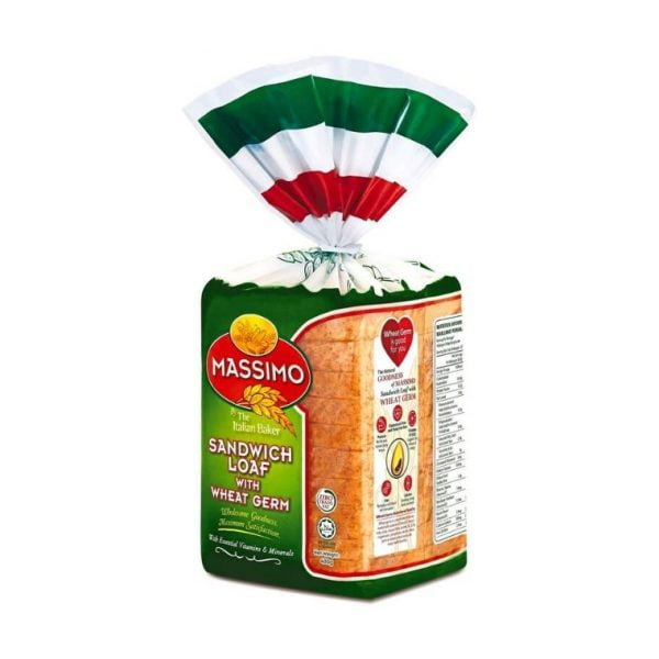 Massimo Sandwich Loaf with Wheat Germ 400g