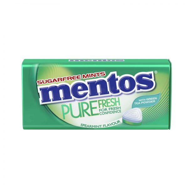 Mentos Pure Fresh Supermint Candy 35g