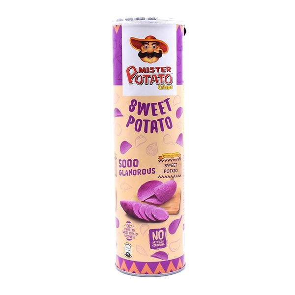 Mister Potato Sweet Potato Crisps 130g