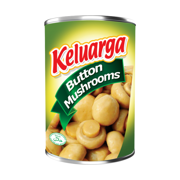 Keluarga Button Mushrooms 425g