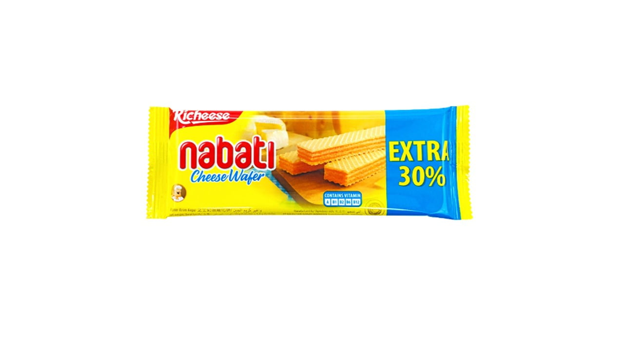 Richeese Nabati Cheese Wafer 18g