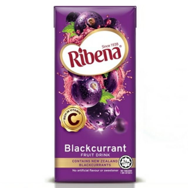 Ribena Blackcurrant 200ml