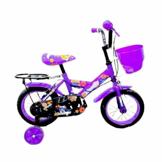 12″ Keluarga Kids Bicycle 1286 with Basket