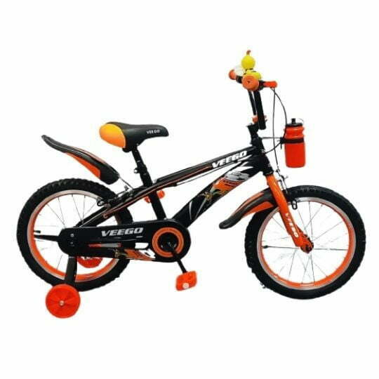 16″ Veego Kids Bicycle 1641 with Alloy Colour Rim and Bottle