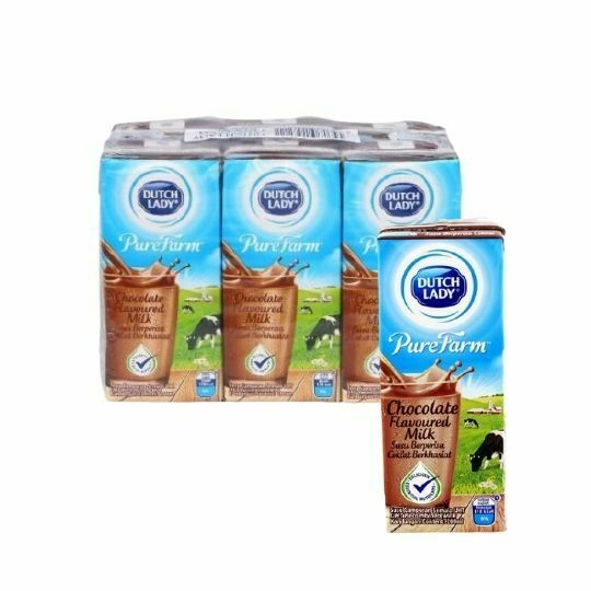 Dutch Lady UHT Chocolate Flavored Milk 6 x 200ml
