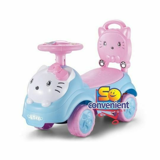 Kitty Ride On Car Push Car with Music 6811