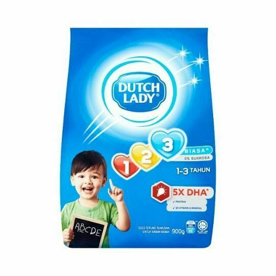 Dutch Lady 123 900g