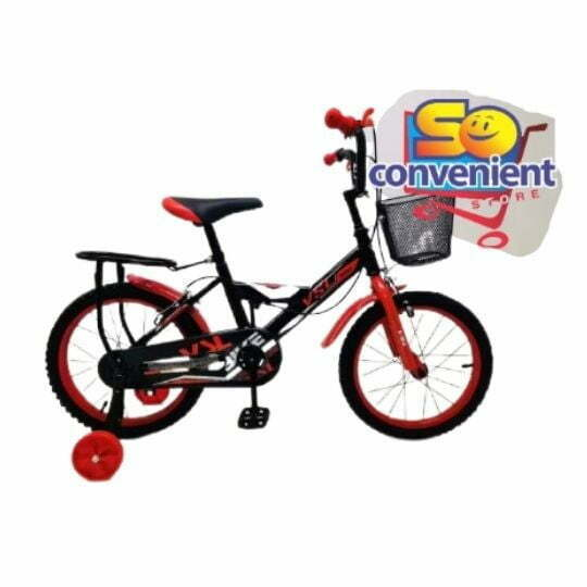 16″ VSL Kids Bicycle 16050BC with Basket and Carrier