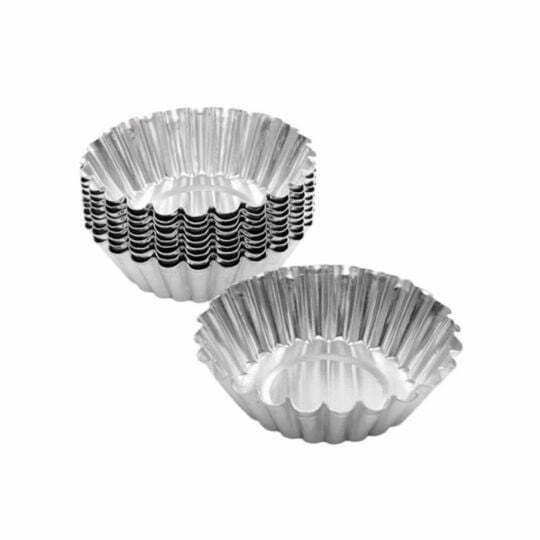 Aluminium Tart Mould 52mm 12pcs