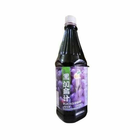 Kim Young Syrup Blackcurrant 1L