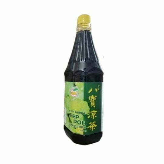 Kim Young Syrup Teh Herba Pep Poh 1L