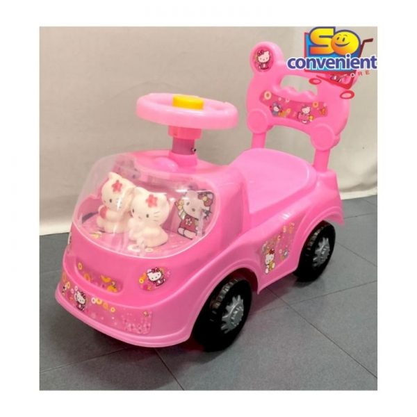 318 Hello Kitty Kids Ride On Car Push Car with Music and Light
