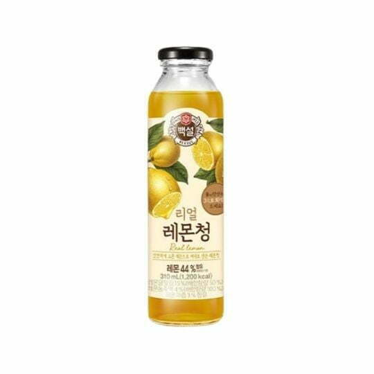 CJ Beksul Real Lemon Tea 310ml