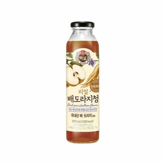 CJ Beksul Real Pear & Balloon Flower Root Tea 310ml