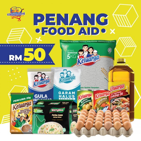 Penang Food Aid Items