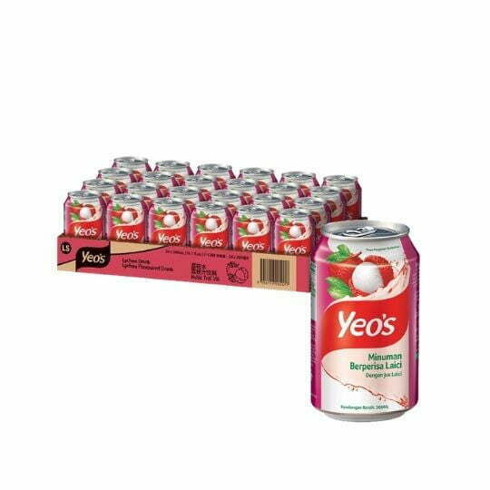 Yeo's Lychee Can Drink 24 x 300ml